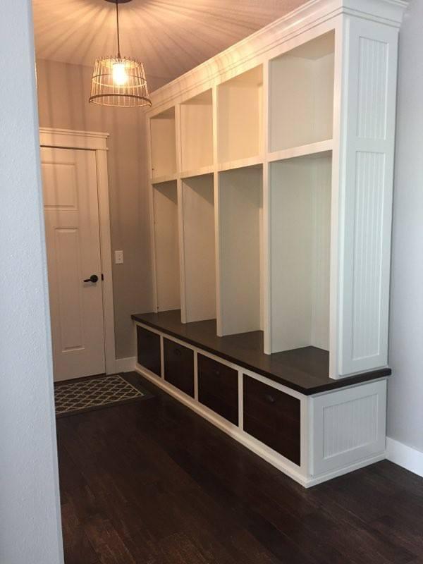 Back Entryway Storage